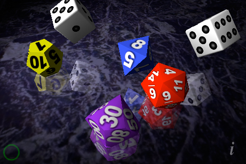 Screenshot Dice 3D
